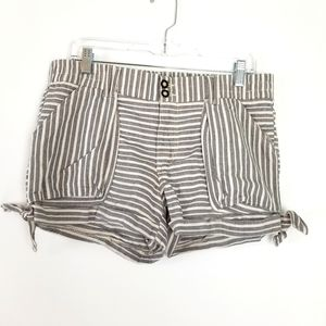 Jolt striped shorts, sz 11
